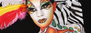 maquillage / makeup artistique en face painting